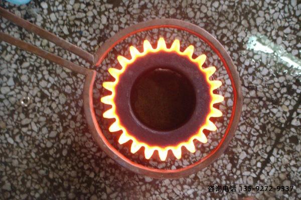 中频淬火炉-抗压强度≥85HSD的淬硬层