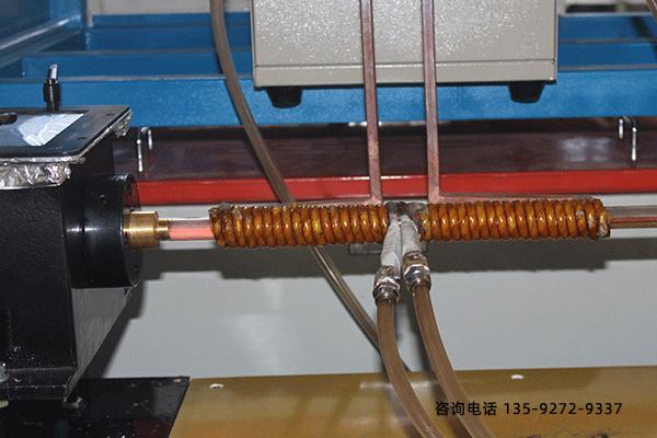 小型淬火机床-热轧带钢淬火工作过程
