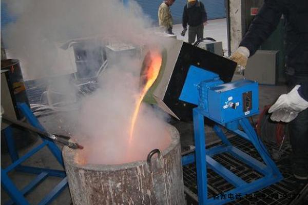 中频熔炼炉-熔炼量从3KG至500KG