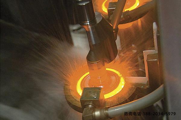 综合淬火设备高频率淬火时提高加热速度