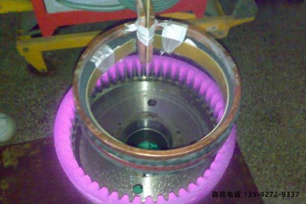 齿轮淬火设备-建筑塔吊外齿轮淬火特征分析