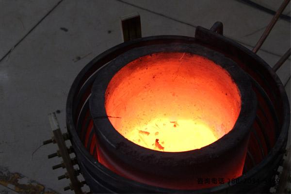 广东高频熔炼炉钢液中氮、碳成分随时间持续减少