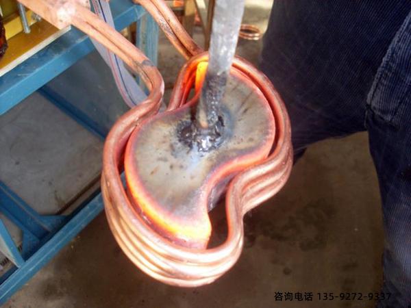 高频感应加热机-加热高电阻值的铁台金