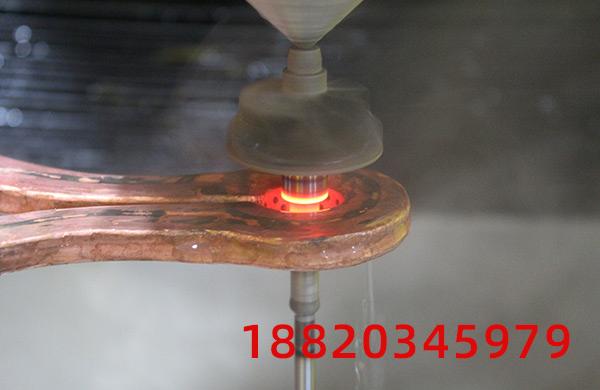 立式数控淬火机床厂家-纵向感应加热淬火的优势