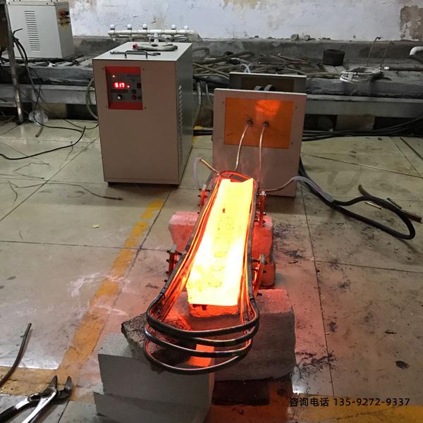 金属材料中频感应加热弯管机