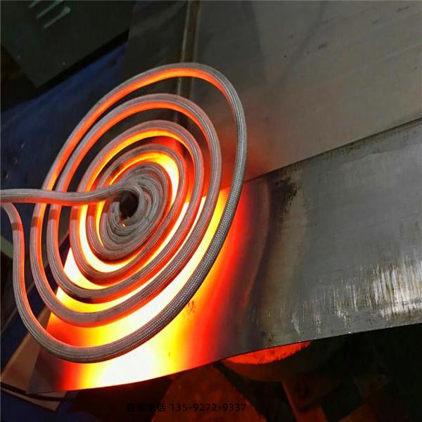 板材淬火设备采用感应加热方式