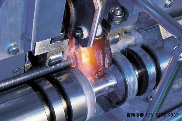 高频淬火设备-曲轴淬火工艺测试