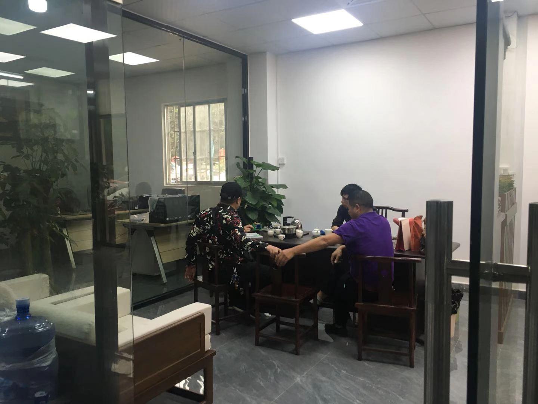 山东客户来厂查看100kw高频淬火设备