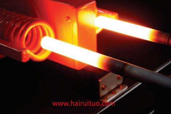 中频锻造炉与烧油发热机对比
