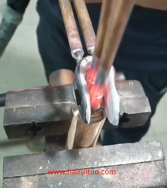 铜管焊接用手持高频感应加热设备,高频焊机