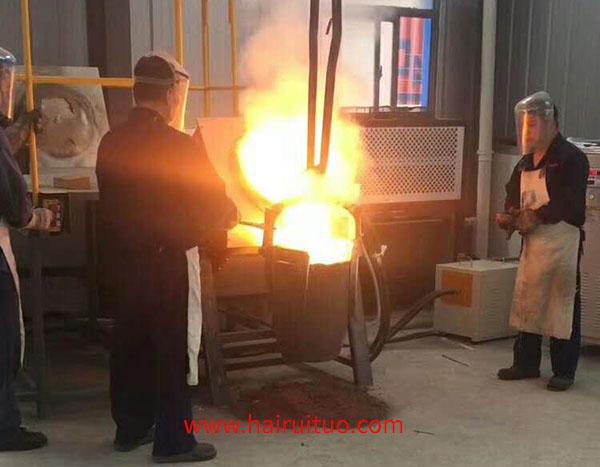铝熔炼炉厂家-谐振电路的固有谐振频率相匹配