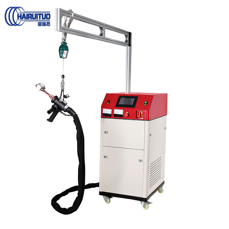 点击查看高频感应加热设备小型熔炼手持移动式焊接淬火热处理超高频加热机大图片