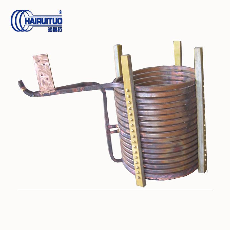 中高频感应加热机电磁线圈特点