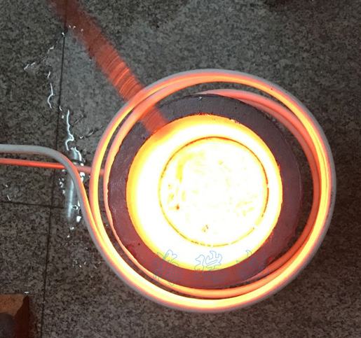 高温熔金设备首选海拓中高频熔金机工业环保无明火