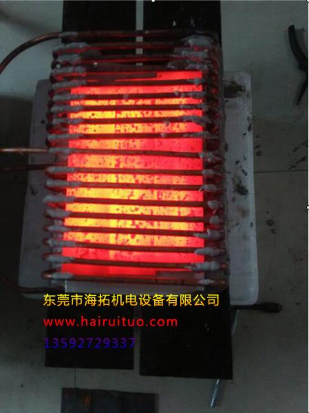 海拓扭杆淬火用电炉深受广东客户好评