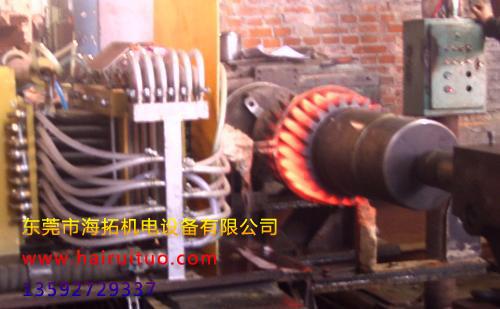 φ15mm-90mm的钢棒热处理感应淬火炉多少钱?