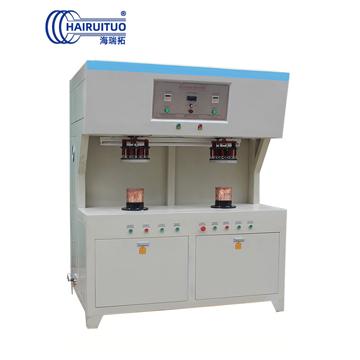 点击查看电热盘高频焊机-双工位发热盘高频钎焊机大图片