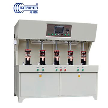 点击查看发热盘高频钎焊机-五工位高频焊接设备大图片