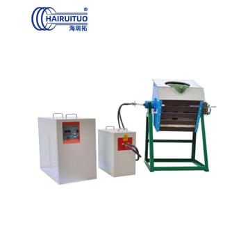 点击查看中频感应熔炼炉-倾倒式中频熔炼电炉设备大图片