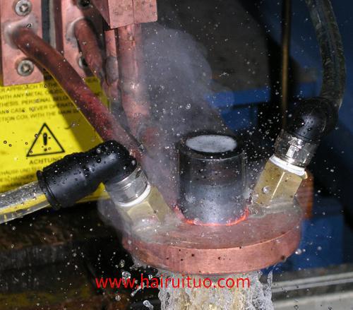 轴类高频淬火视频-高频淬火设备齿轮轴承淬火