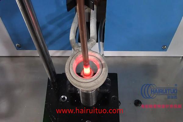 高频焊接机对铜管进行焊接试验