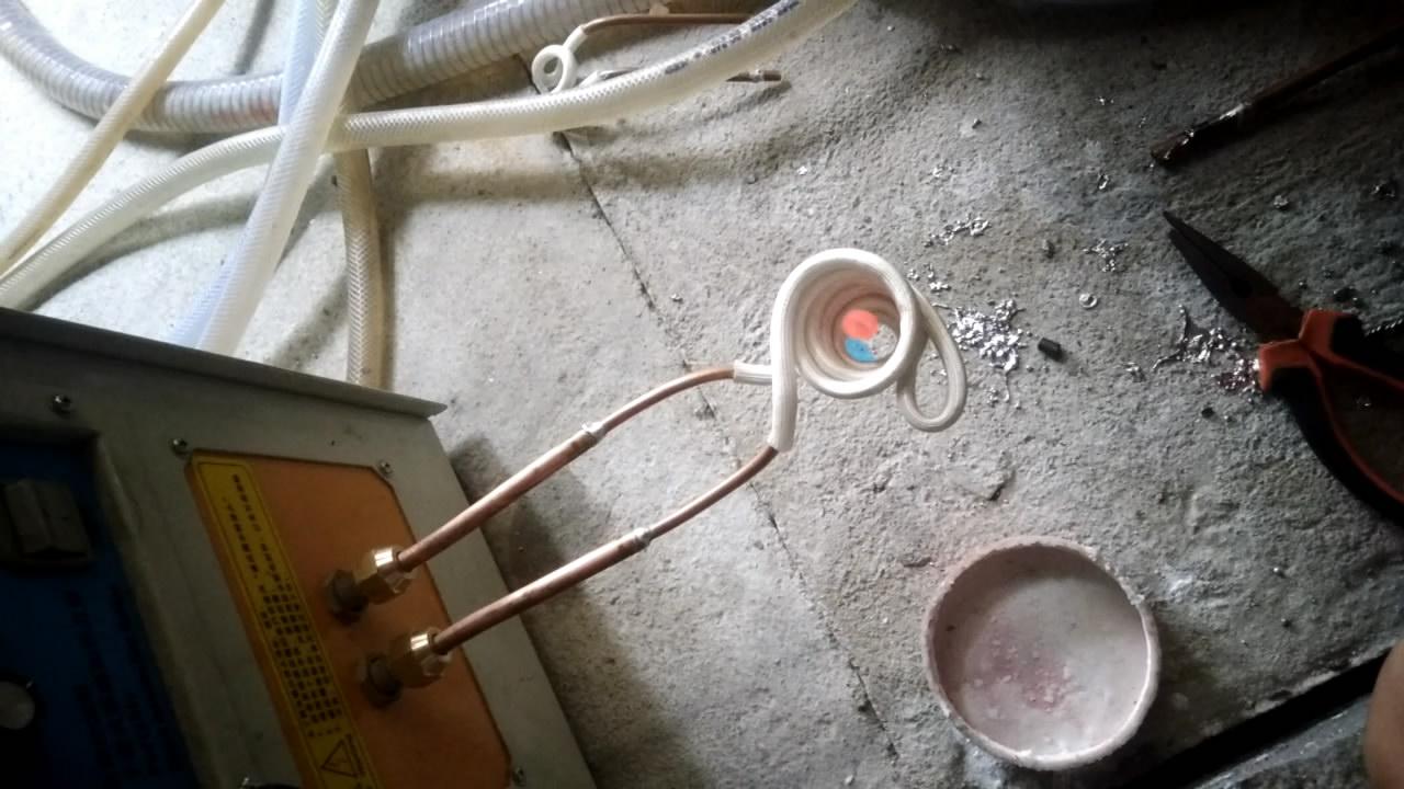 高频加热设备磁悬浮熔炼实验