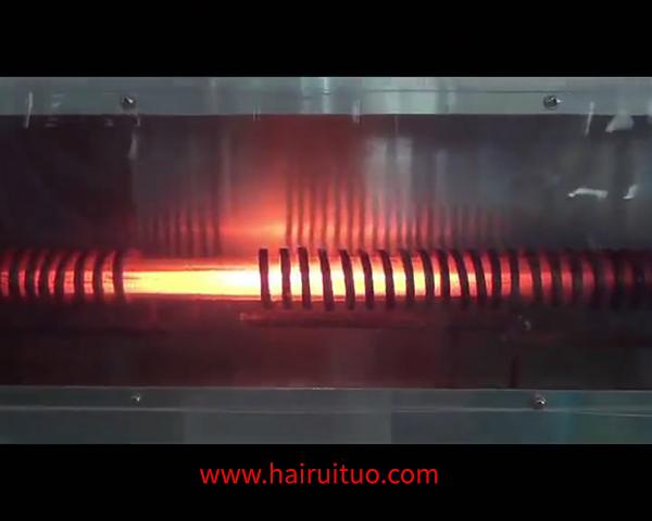 超音频退火设备对银棒在线退火热处理