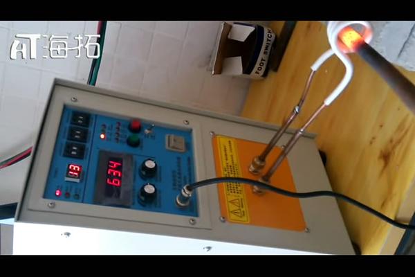高频加热机对锯片齿牙加热淬火处理