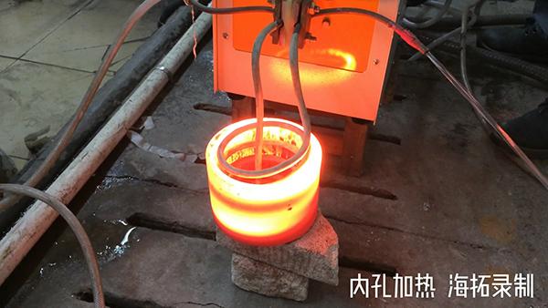 高频加热机对钢管内孔加热退火拉伸
