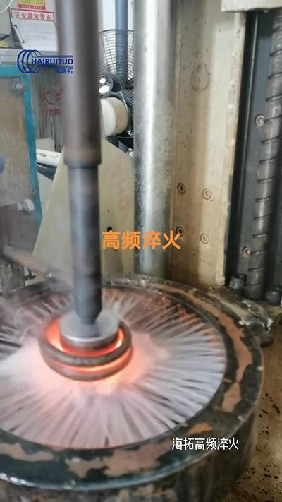 轴淬火高频自动化淬火设备数控淬火机床
