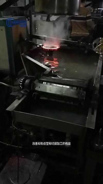 高频淬火过程,淬火工艺流程,淬火退火回火目的