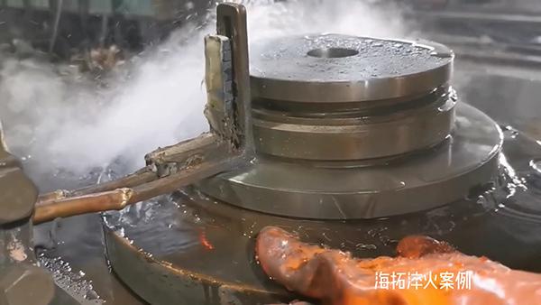 高频淬火机床对工件零件表面淬火
