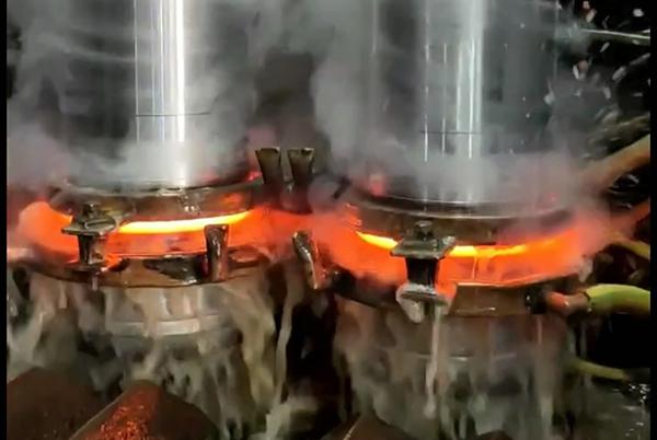 双工位中频淬火机床