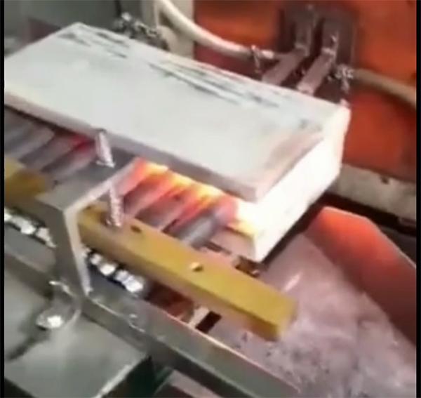 中频锻造炉-钢棒加热锻造炉