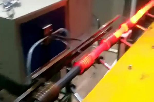 棒料在线加热淬火退火用中频感应加热设备
