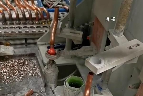 双工位高频钎焊机铜管焊接设备