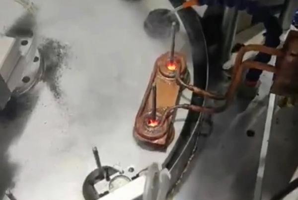 高频钎焊机,自动化高频焊接铜管