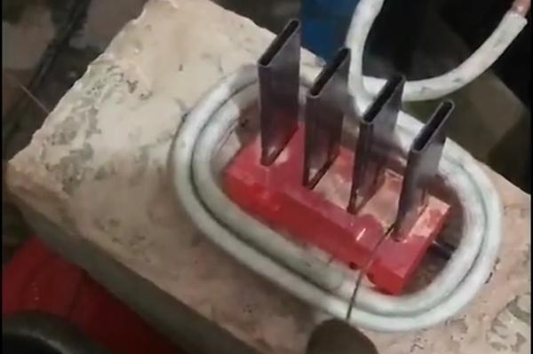 高频焊机演示焊接工艺