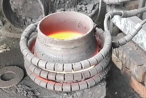水管管道加热退火热处理用超音频感应加热设备