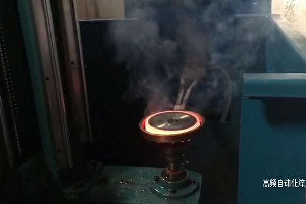 高频淬火机床轴淬火齿轮淬火设备