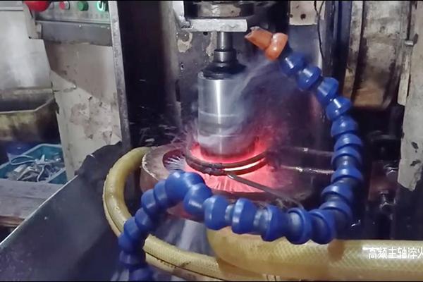 某机床主轴淬火用高频淬火设备