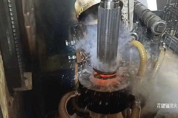 花键轴淬火用高频淬火机床
