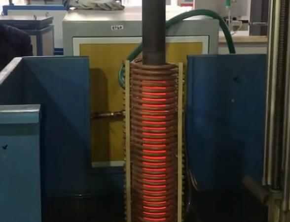 高频加热炉棒轴调质热处理