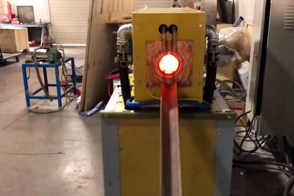 中频加热热透炉棒料加热淬火退火热处理设备