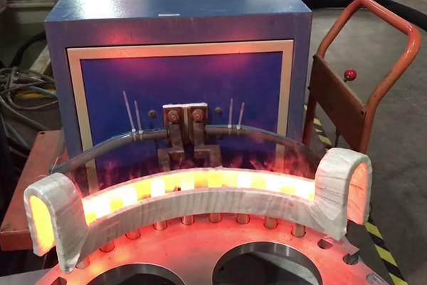 不锈钢端头加热用超音频感应加热设备
