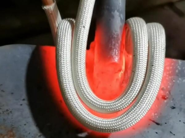 铁锹扬铲退火高频加热机对焊缝退火