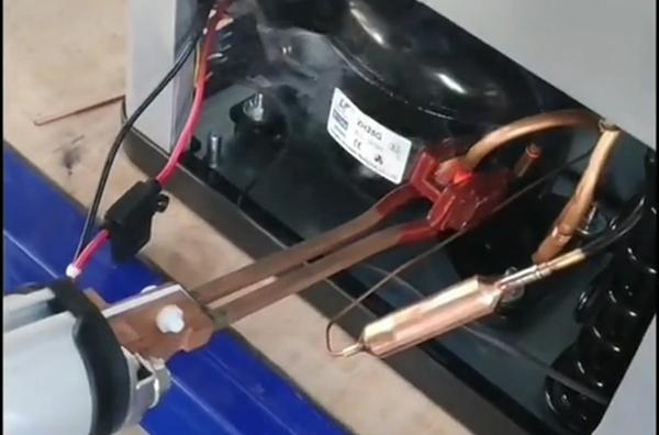 冰箱压缩机铜管钎焊用高频焊机