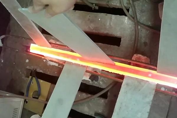 钨钢焊接过程