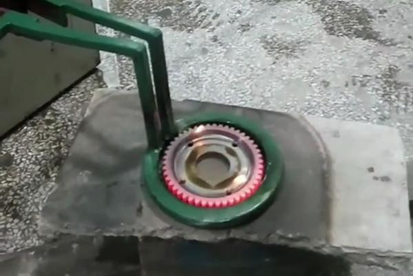 齿轮淬火用高频淬火设备