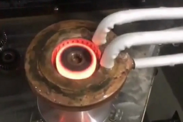立式高频淬火机床,自动化齿轮淬火设备